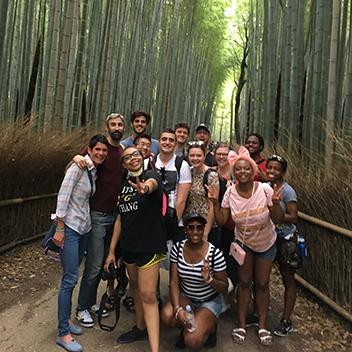 Study abroad trip to Japan