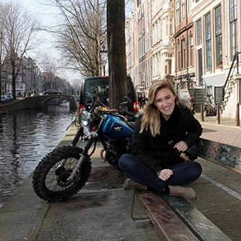 Student in Amsterdam