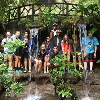 Students study abroad in Costa Rica