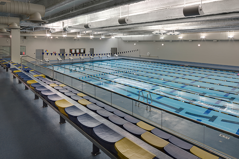 NCAA pool at Levine Center